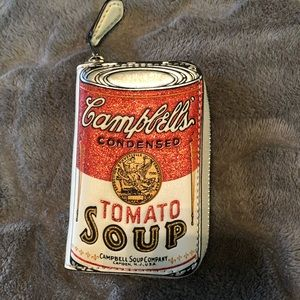 Campbell's soup coach wallet used once.